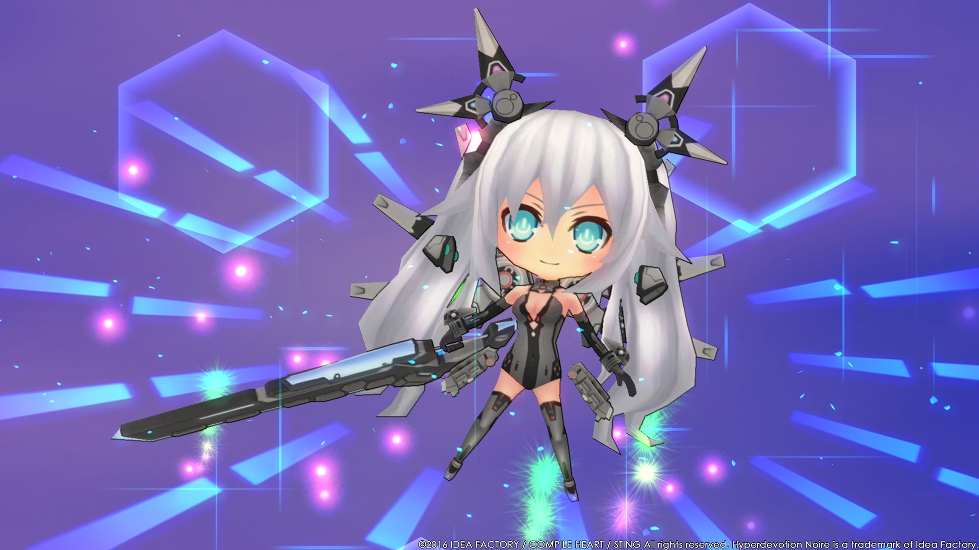Hyperdevotion Noire Goddess Black Heart 4