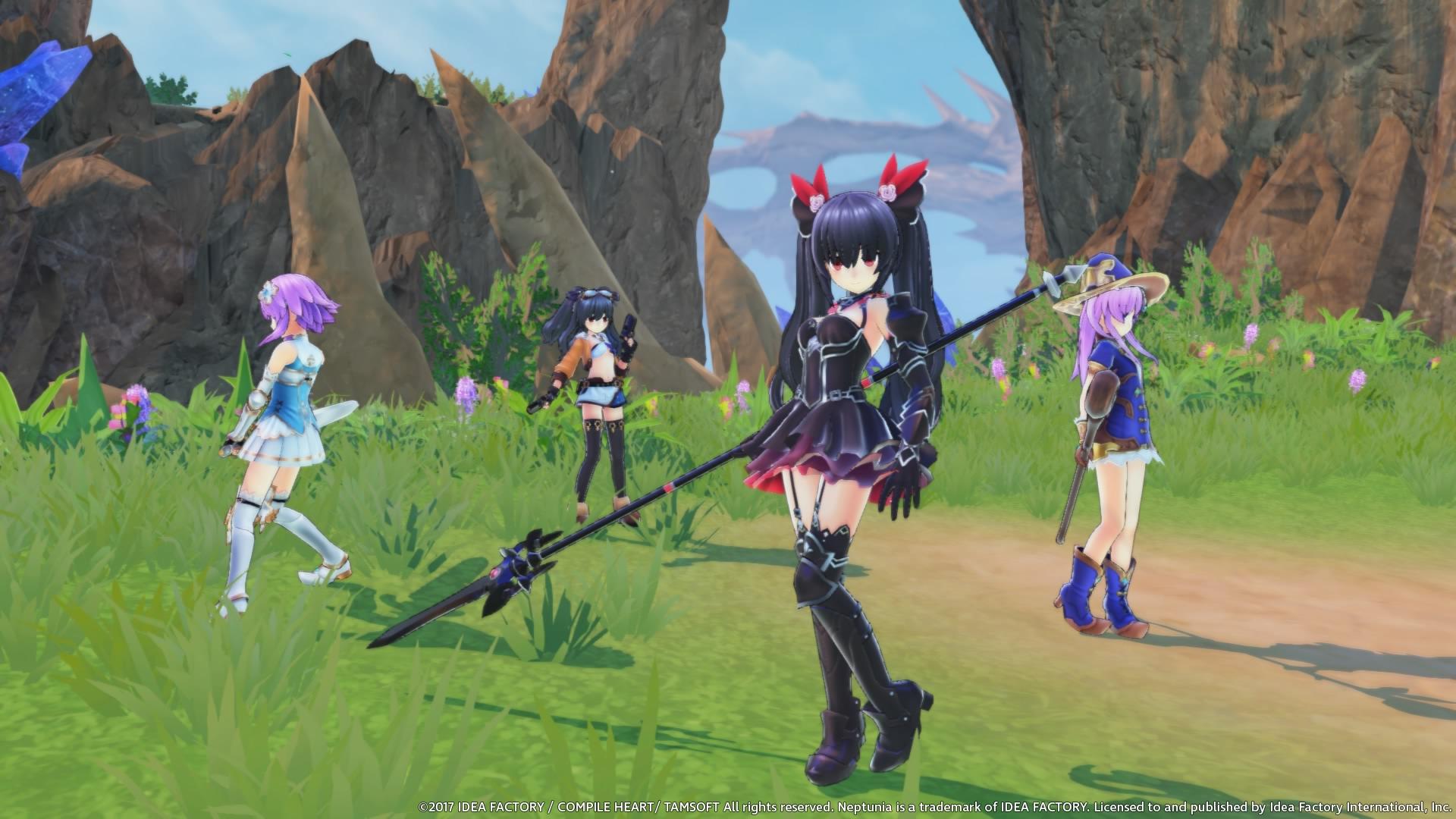 Cyberdimension Neptunia: 4 Goddesses Online (PlayStation 4) - Otaku